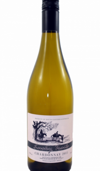 Lucky Trails Chardonnay hvidvin på flaske