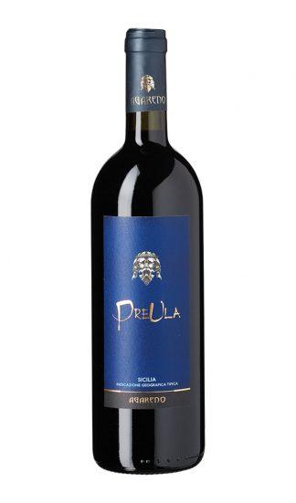 Preula rødvin på falske