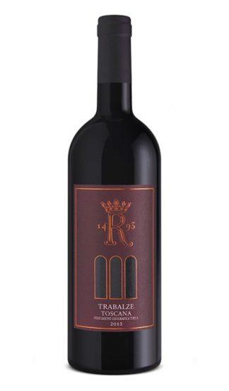 Trabalze rødvin på flaske